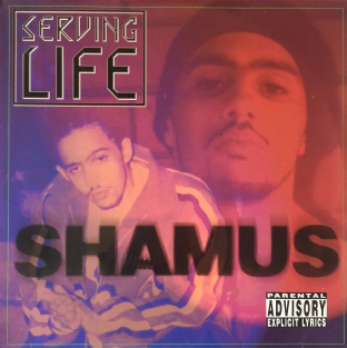 Shamus ‎- Serving Life (LP) (EX/VG-)